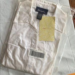 A4 Denim & Co White Blouse